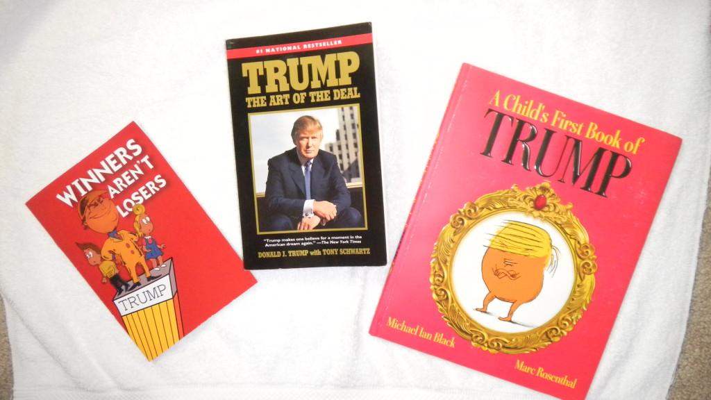 TRUMP BOOKS & TSHUTESETC1,25,17 028